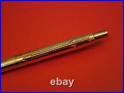 100% Genuine Rolex 12k Gold Filled Parker Promotional Ball Pen 70's 80's Antique