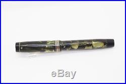 1920s Vintage PARKER Duofold Deluxe Sea Green Senior Fountain Pen Restored