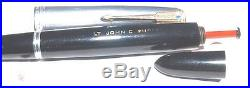 1942 vintage PARKER 51 Fountain Pen & Pencil withSTERLING SILVER CAPS EXCELLENT
