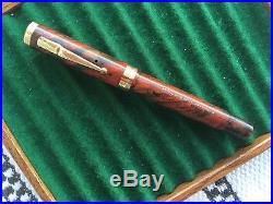 Beautiful Vintage RMHR Swan ETN46 with Smooth #6 Med Nib Restored