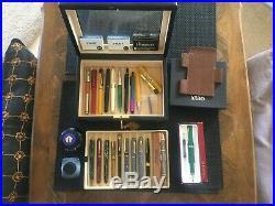 Box Lot Vintage & Modern FOUNTAIN, BALLPOINT PENS/PENCILS WATERMAN, LAMY etc
