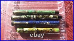 Four Vintage Pens Parker, Wahl/Eversharp, Regent, all restored
