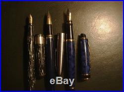 Lot of 10 Vintage Fountain Pens Parker Sheaffer's Waterman