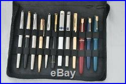 Lovely Lot Of 24x Good Vintage Fountain Pens Parker, Waterman, Sheaffer & Onoto