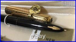 NOS Vintage Parker 61 Fountain Pen, Ballpoint Pen & Mech Pencil Presentation Set