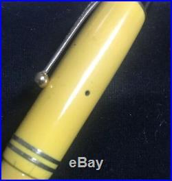 PARKER Duofold Senior Streamline Mandarin Yellow Vintage Fountain Pen