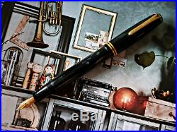 # PARKER Popular Danish Vintage Fountain Pen 14KT gold nib restored