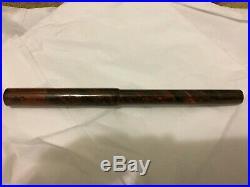 Parker 18 Red Mottled Eyedropper Vintage Flex Pen