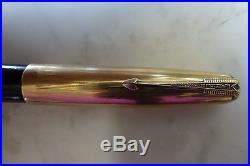 Parker 51 Aerometric 51 14K 1/8 Gold Filled Rare 14K nib USA Vintage