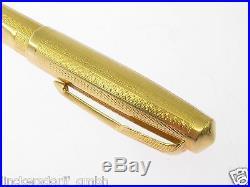 Parker 51 Vintage Fountainpen 1969-1972 18 Kt Gold Presidential Version Selten