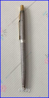 Parker 75 Spanish Treasure Sterling Silver Vintage Ballpoint Pen