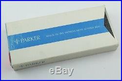 Parker 75 Vintage Classic Sterling Silver Ballpoint & Pencil Set c. 1960 MINT