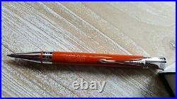 Parker Duofold Ballpoint Pen Big Red Vintage Orange