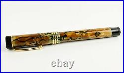 Parker Duofold Lucky Curve Senior fountain pen oversized Antique vintage