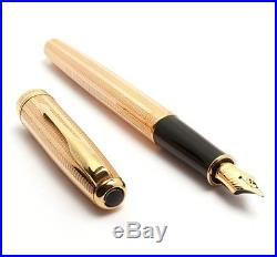 Parker Sonnet Rose Gold Fountain Pen & BallPoint Pen Set Rare Vintage Stock New