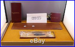 Parker Vintage 1980's Classic Walnut Ball Pen and Pencil Desk -NEW OLD STOCK