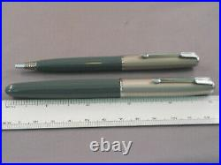 Parker Vintage 51 Special Fountain Pen and Pencil Set-fine point-gray