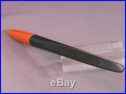 Parker Vintage Deco Desk Set-black and orange duofold pencil/letter opener