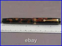 Parker Vintage Duofold Junior Fountain Pen-Burgundy -streamline -medium point