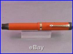 Parker Vintage Duofold Junior Fountain Pen-Orange -medium point