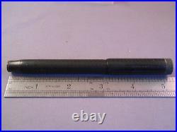 Parker Vintage Jack Knife Safety #24-1/2 Chased Black Hard Rubber Fountain Pen