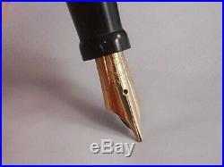 Parker Vintage Senior Big Red Duofold Pen working-medium point