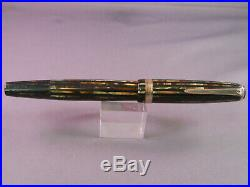 Parker Vintage Stripped Duofold Fountain Pen-working-fine point-V-nib