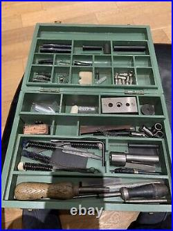 RARE PARKER VINTAGE REPAIR OUTFIT BOX WITH CONTENTS INTACT 1940/50s -STUNNING