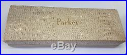Rare Used Vintage Parker 51 Grey Fountain Pen Boxed