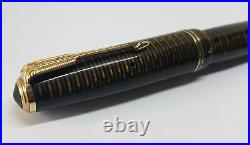 Rare Used Vintage Parker Vacumatic Brown Fountain Pen