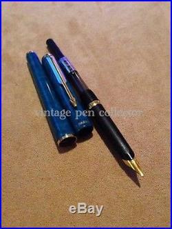 Rare Vintage Parker 95 GT (Vert Lagon Laque)Fountain Pen-1991- Superb Condition