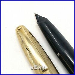 Restored Vintage Sheaffer PFM V Fountain Pen 14k Extra Fine Nib