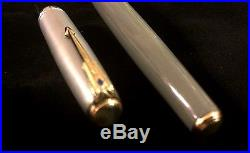 SPECTACULAR FIRST YEAR DOUBLE JEWEL Parker 51 Vacumatic, Vintage, 1941 STERLING