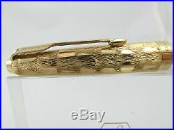 Superb Vintage Parker 61 Cumulus Rolled Gold Fountain Pen, GT, Box, 1975 Nr MINT