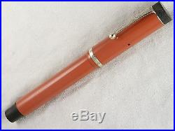VINTAGE 1920s PARKER LUCKY CURVE DUOFOLD SENIOR FOUNTAIN PEN RESTORED