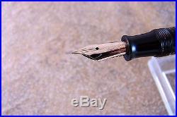 Vintage 1941 Golden Pearl Parker Vacumatic Fountain Pen, Restored. Nice F Nib