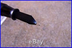 Vintage 1943 Burgundy Parker Senior Duofold Vacumatic Fountain Pen, Restored