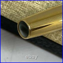 VINTAGE 1950s PARKER 61 FOUNTAIN PEN PENCIL SET GOLD FILLED SIGNET WITH CASE