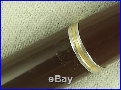 Vintage Near Mint Parker 51 Vacumatic Fountain Pen Set Gf Caps Restored