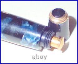 VINTAGE PARKER DUOFOLD NS BLUE MARBLE DOUBLE JEWEL c. 1946 EXCELENT