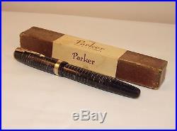 Vintage Parker Vacumatic Major Blue Diamond Fountain Pen Rod Fill 1947