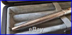Very Rare Vintage Parker 75 Silver Damier Ballpoint Pen