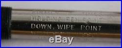Vintage 14kt Solid Yellow Gold Parker 51 engraved pen pencil set leather box