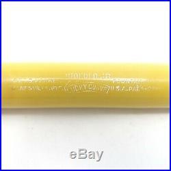 Vintage 1928 Parker Duofold Fountain Pen Mandarin Yellow Restored