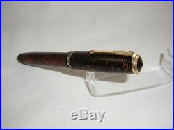 Vintage 1937' Parker Burgundy Pearl Double Jewel Vacumatic Oversize Fountain Pen