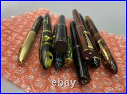 Vintage 9 Fountain pen lot from estate Parker, sheaffer wahl eversharp Swan AS IS