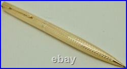 Vintage 9ct Solid Gold Parker 51 Presidential Propelling Pencil 1960