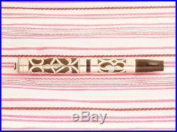 Vintage Antique Parker 14 Sterling Silver Heath Filigree Overlay Fountain Pen