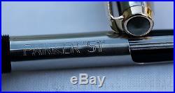 Vintage Nr Mint PARKER 51 Mk2 Classic De Luxe Fountain Pen English Pouch
