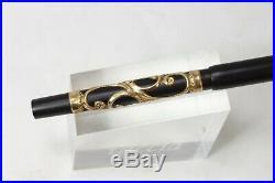 Vintage PARKER 33 Fountain Pen Eyedropper Filigree Overlay #2 nib Minty